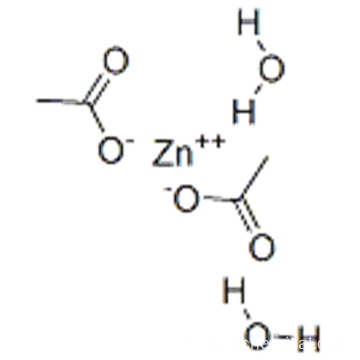 Acetic acid, zinc salt,hydrate CAS 5970-45-6